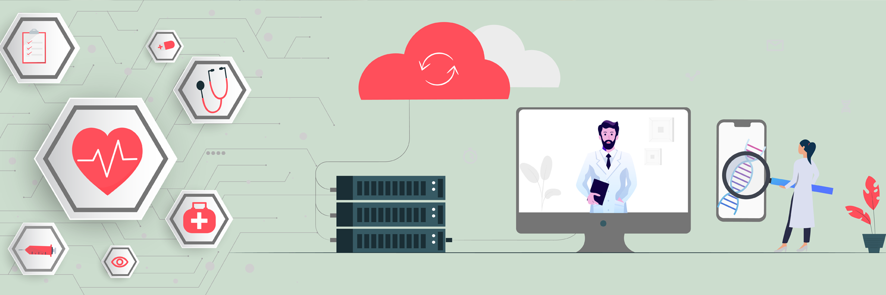 cloud computing is benefiting the healthcare tech industry