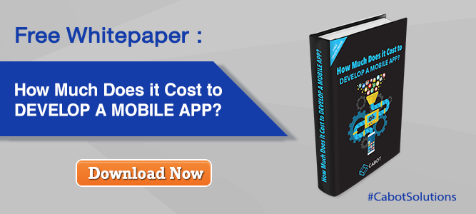 Free Whitepaper: How Much Does it Cost to Develop a Mobile App?