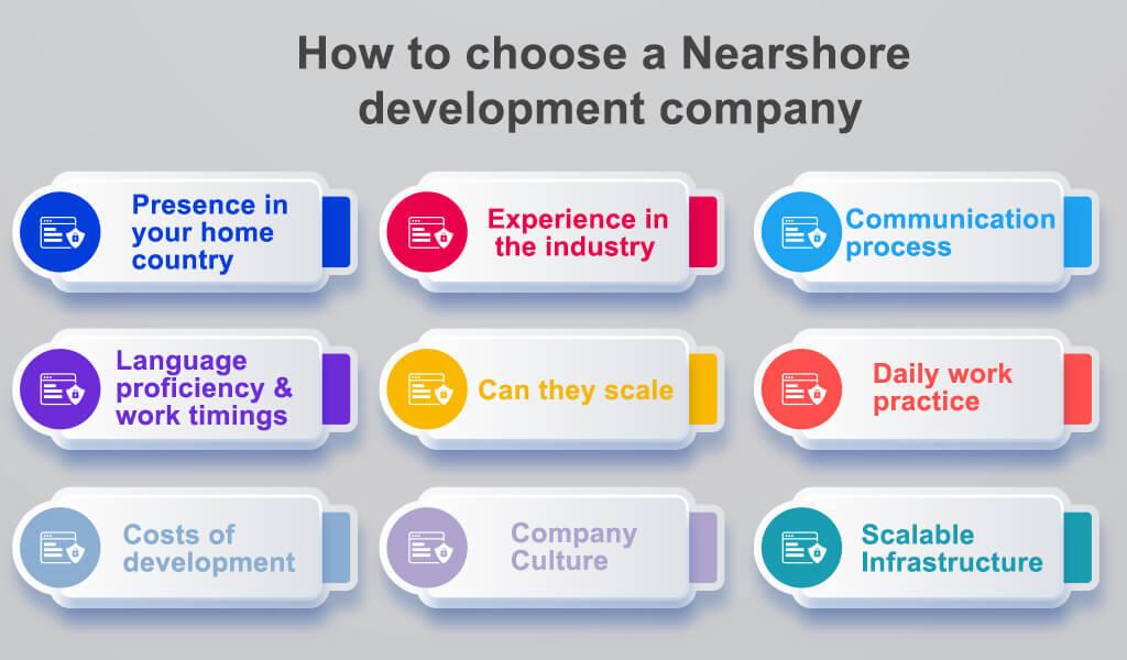 How to choose a Nearshore development company