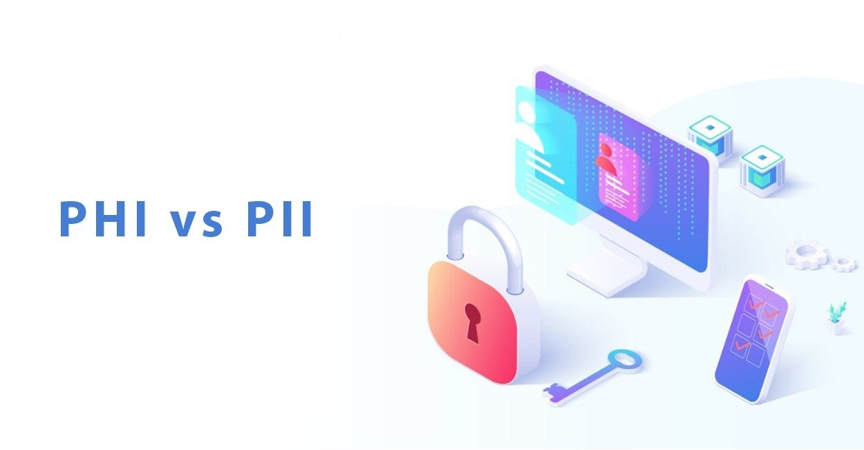 PHI and PII as defined by GDPR