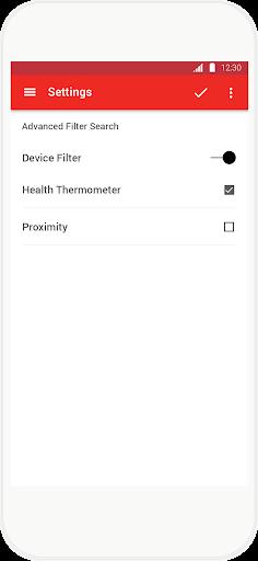 solution - atmel wearable app