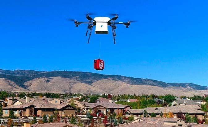 Drones Supplying Medical Kits